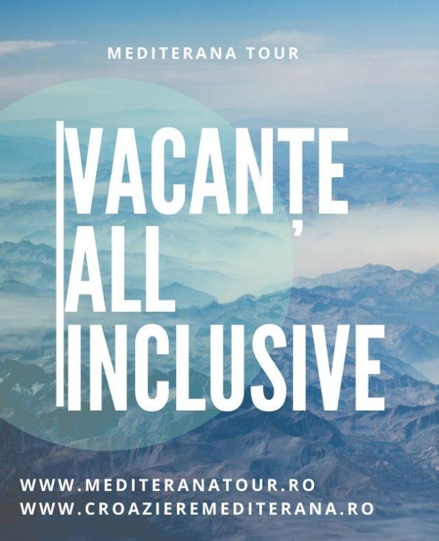 vacante all inclusive. Rezervati aici Oferte de vacanta cu concept all inclusive. Mediterana Tour