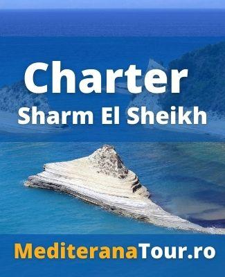 rezervari Egipt cu zbor inclus. Charter Sharm El Sheikh