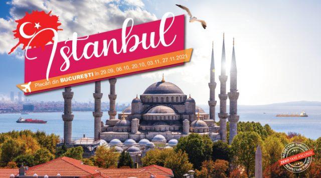 Sejur Istanbul cu zbor inclus si ghid roman insotitor
