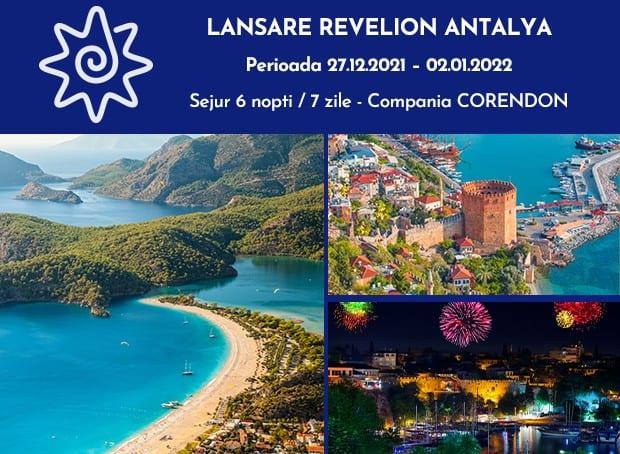Vezi ofertele noastre de Revelion 2022 in destinatia Antalya, Turcia